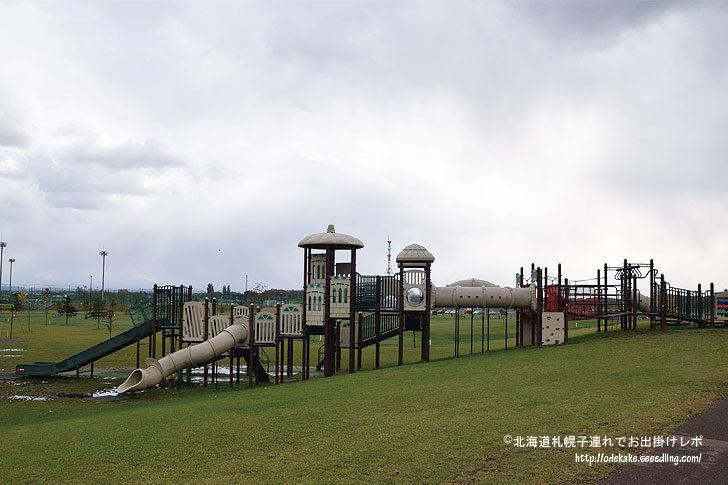 旭川市東光スポーツ公園で雄大な景色を眺めながらたっぷり遊んで来ました!